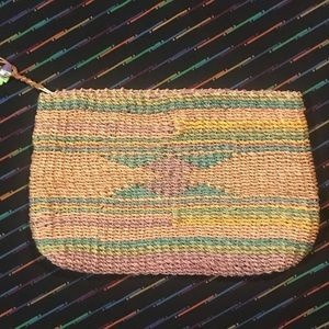 Handbags - Vintage Boho Chic Natural Fiber Clutch